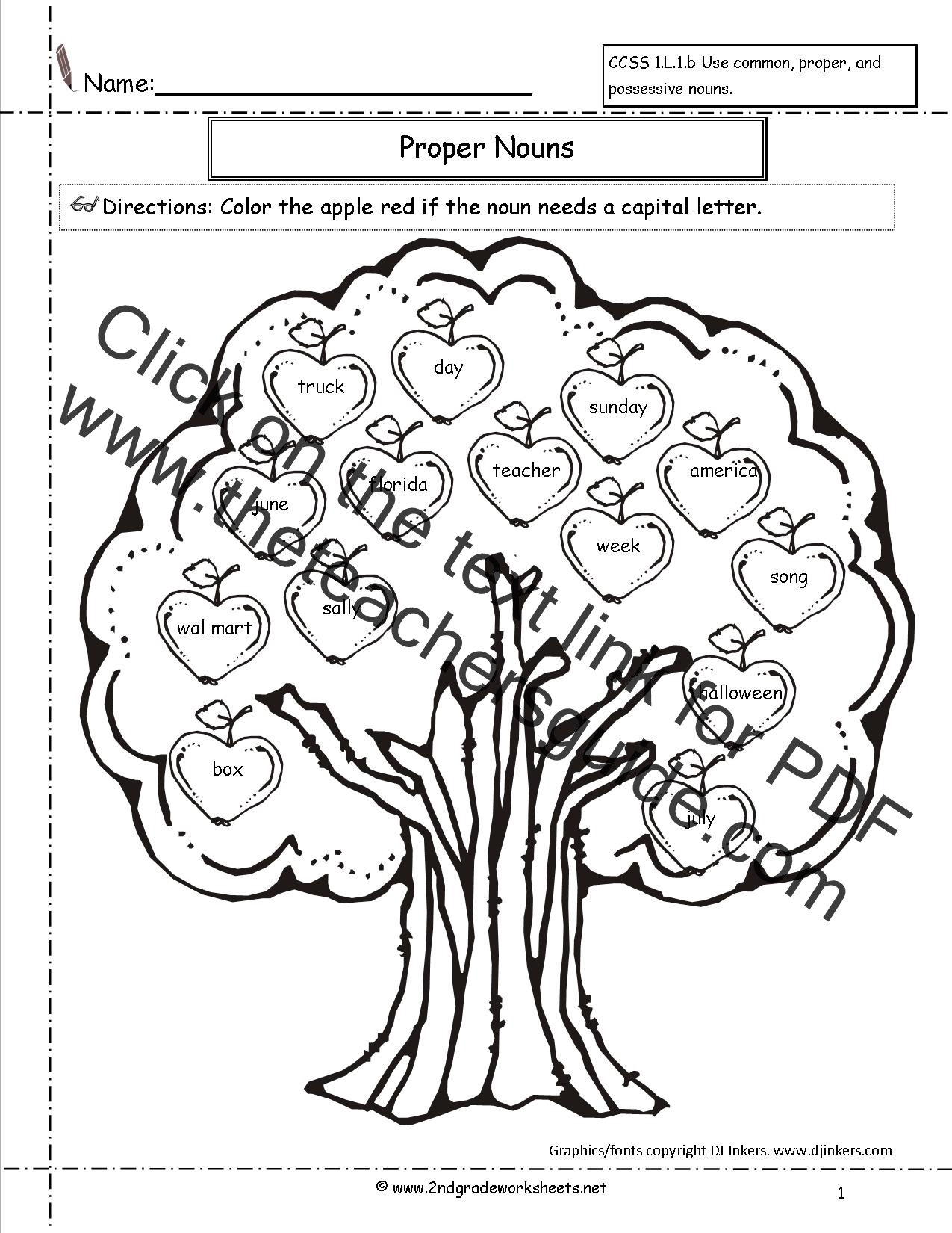 2ndgradeworksheets