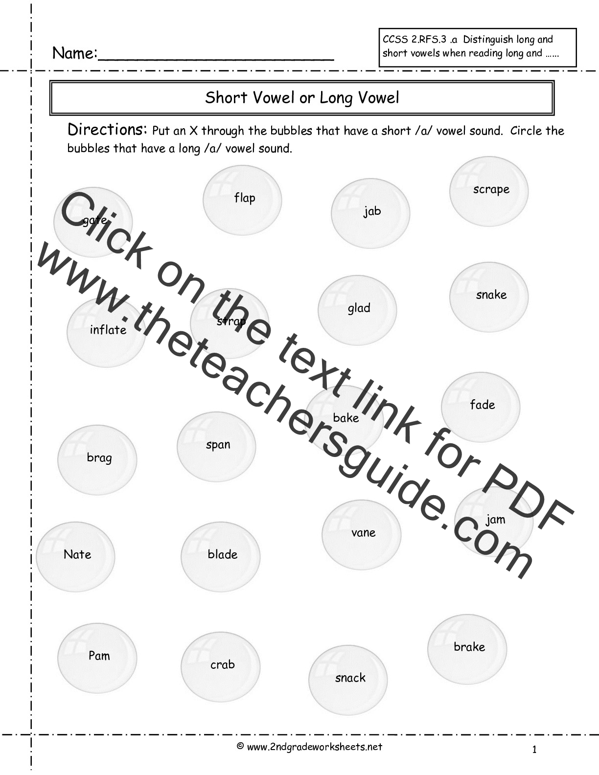 Worksheet 2nd Grade Phonics Worksheets Grass Fedjp