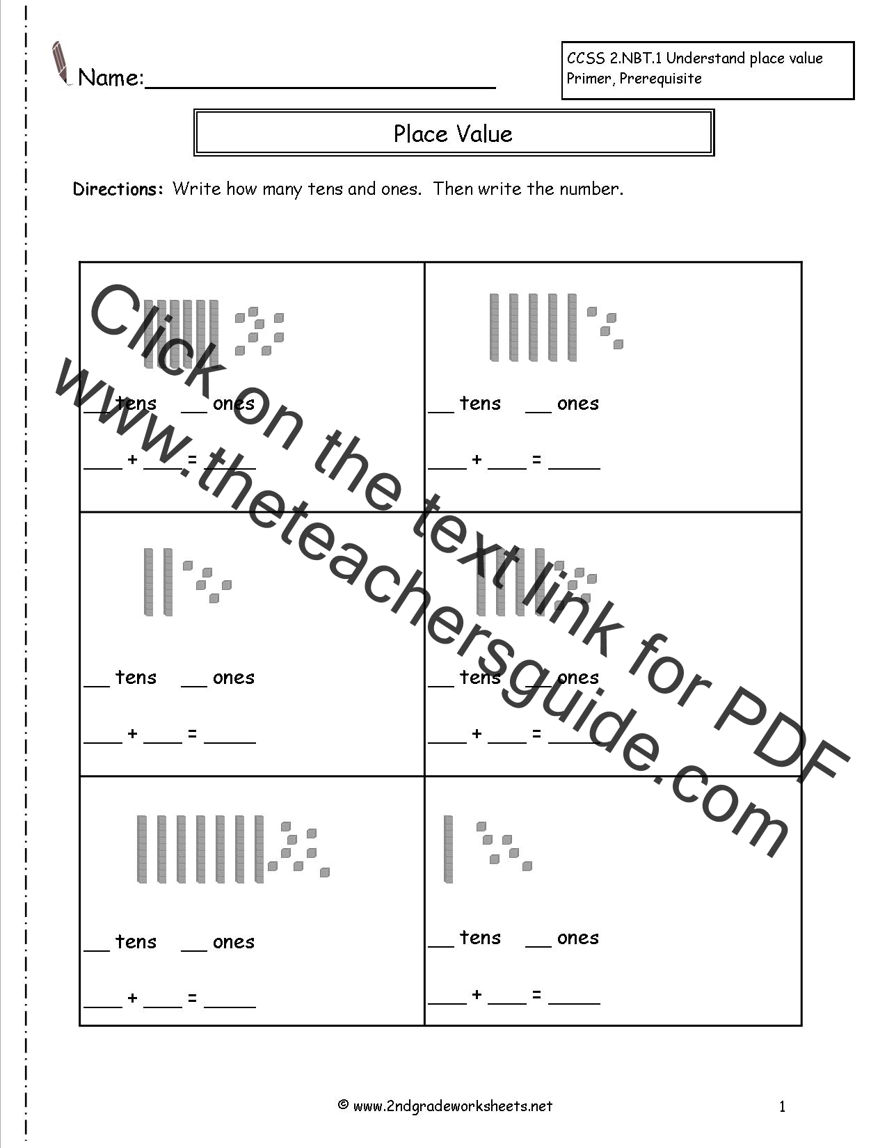 Place Value Worksheet 5th Grade Common Core