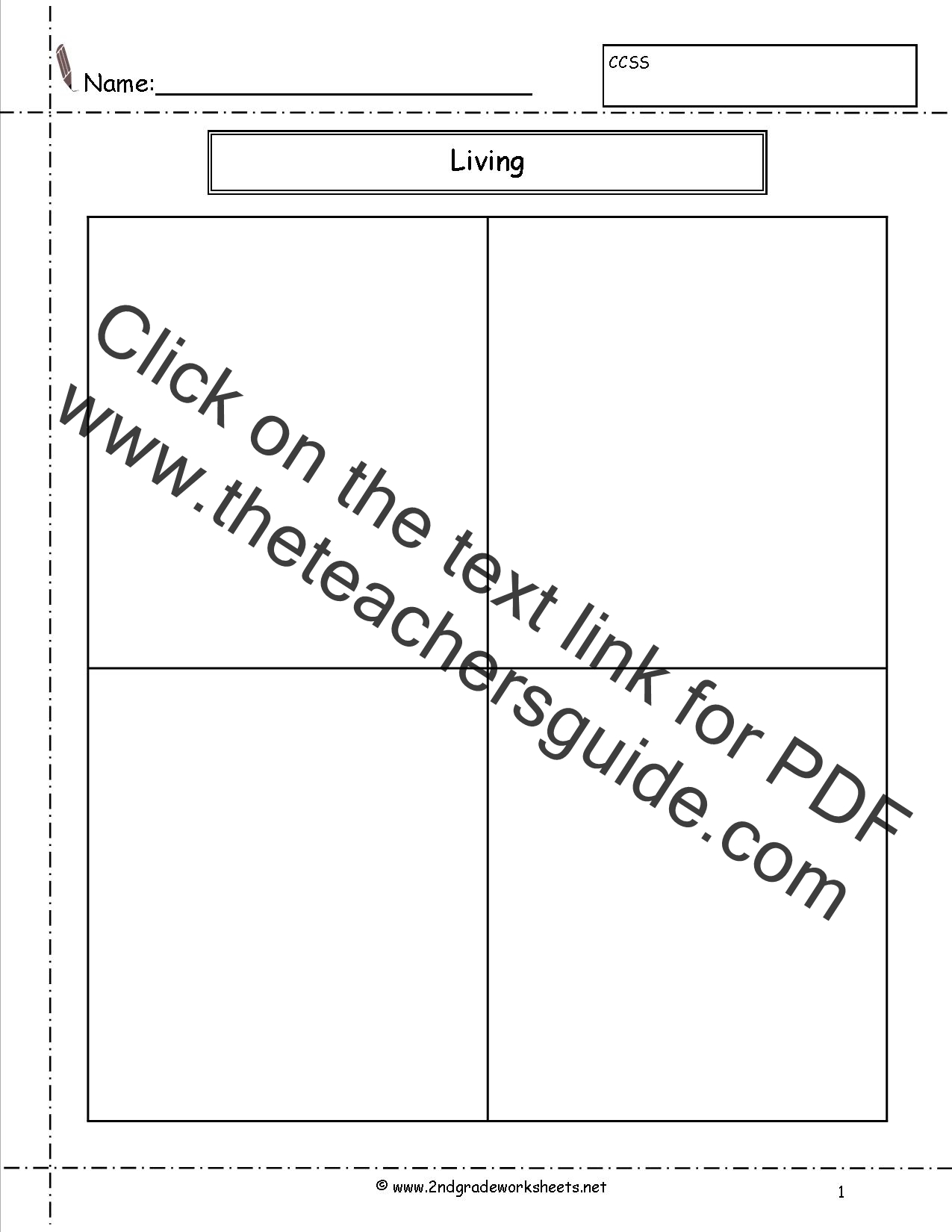 Worksheet Living And Nonliving Things Worksheet