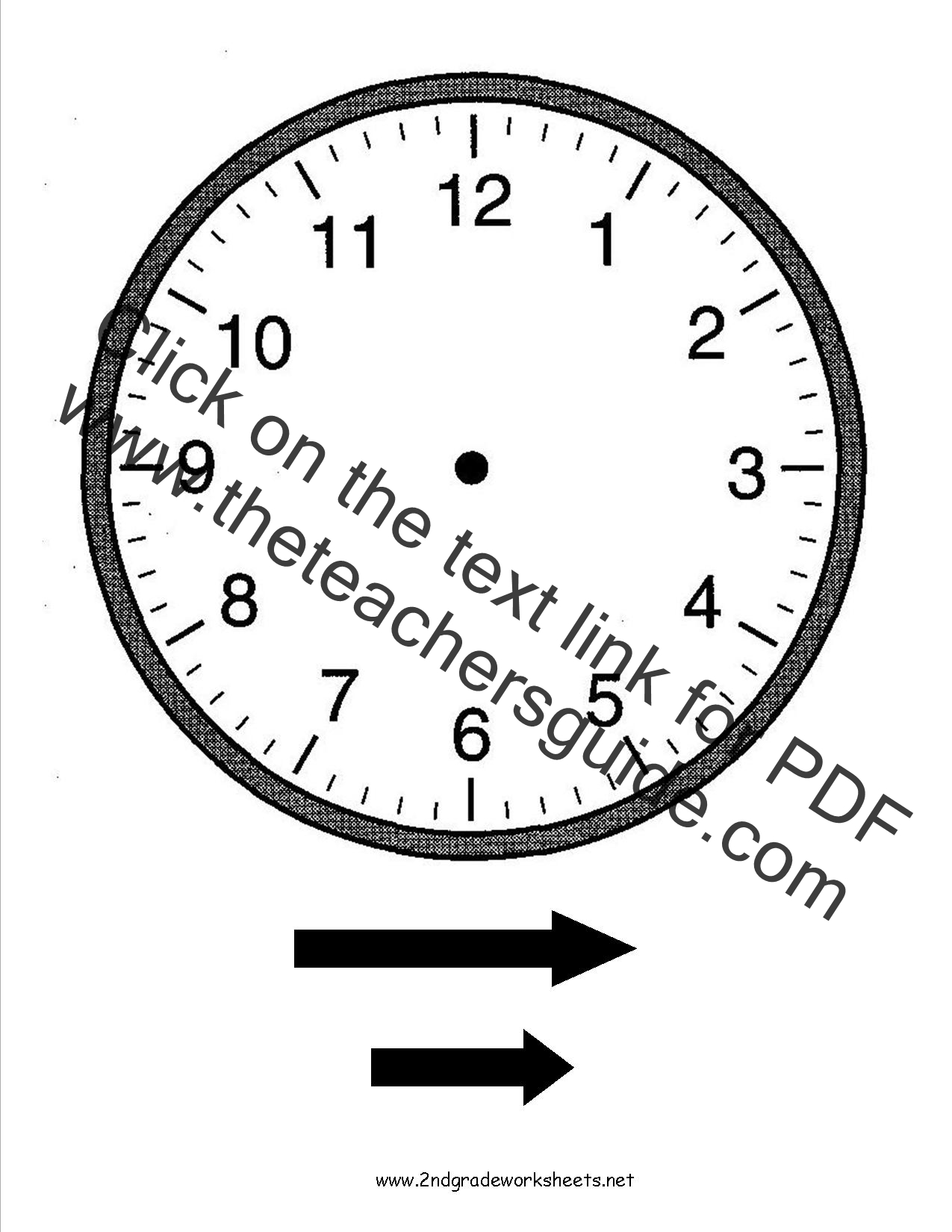 Printable Clock Worksheets That Are Selective