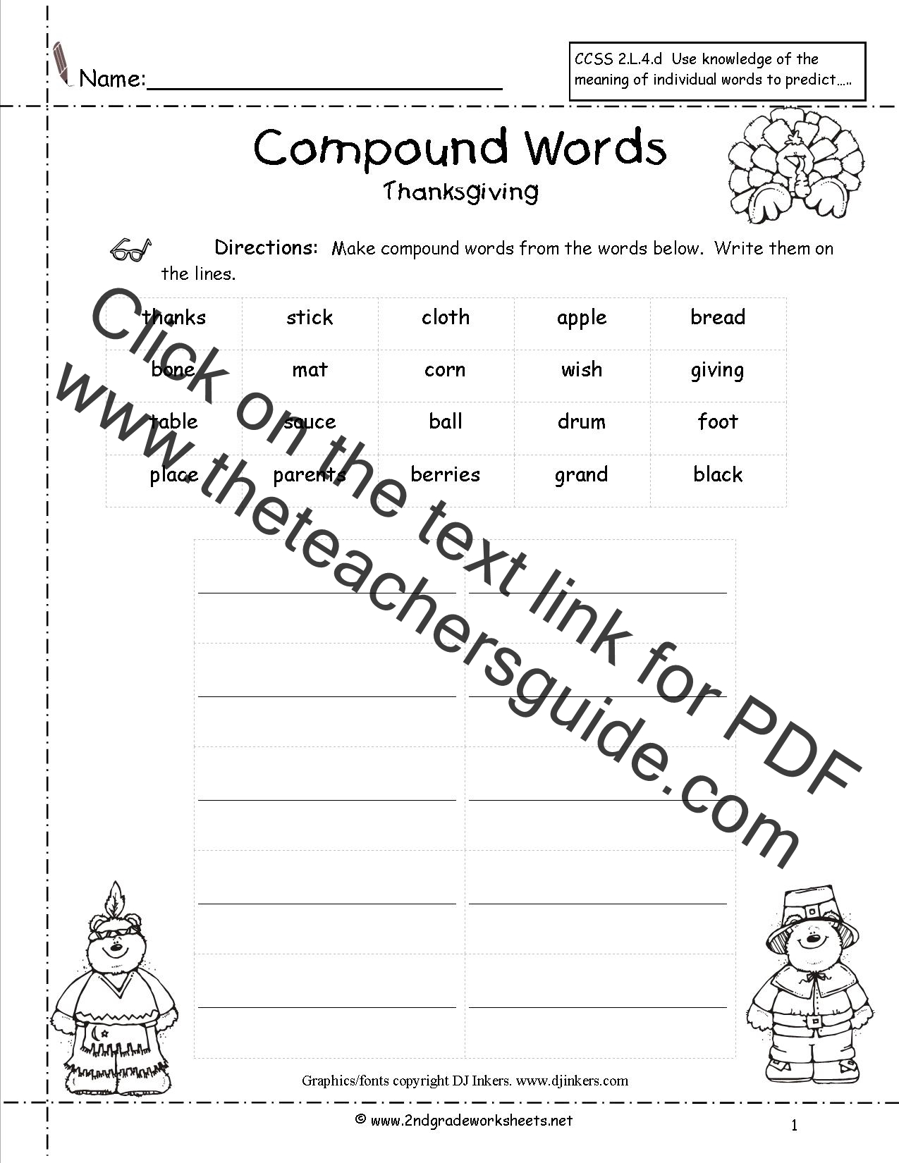 The Best Thanksgiving Quiz Printable