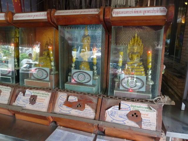 Das sind keine Spielautomaten, sondern blinkende Spendenboxen