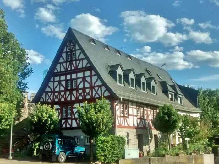 Rheinsteig Lorch Fachwerkhaus
