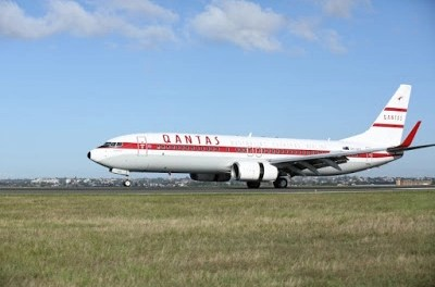 Qantas Retro livery looks way more impressive in the flesh
