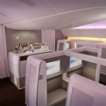 China Eastern – 777 to Australia – but don't try to book First Class through Qantas