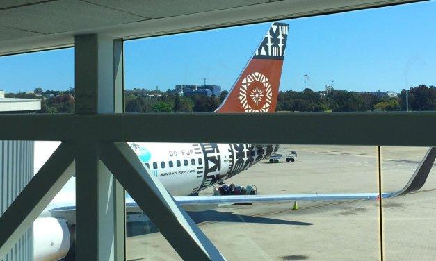 Fiji Airways – Dine on the Ground?