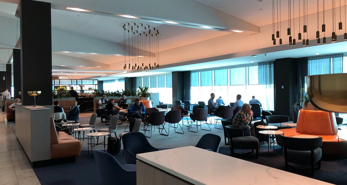 Qantas Melbourne Business Lounge – my first time [updated]
