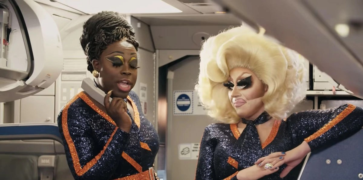 Drag (JetBlue) Race. Shantay, you stay!