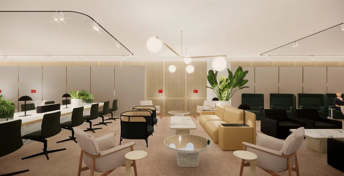 Qantas: New First Lounge Singapore to open on December 2