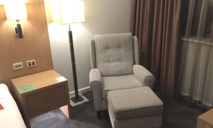 Hotel: Stamford Plaza, Adelaide, South Australia. Three square metres makes all the difference.