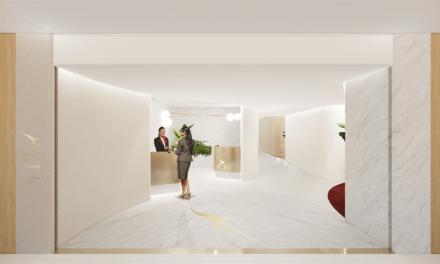 Qantas: Singapore First Lounge – OPEN