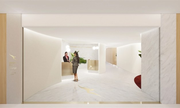 Qantas: Singapore First Lounge – OPEN