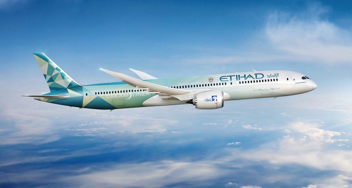 Etihad goes 'eco' with Boeing 787