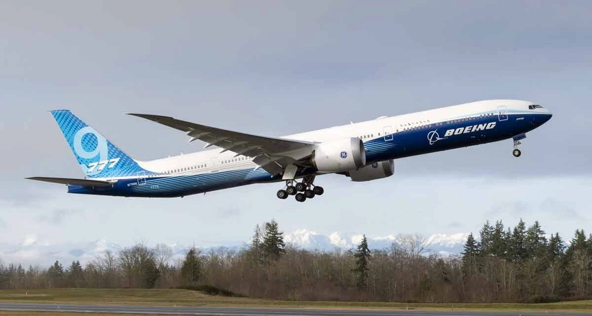 Boeing 777X: Airborn at last!