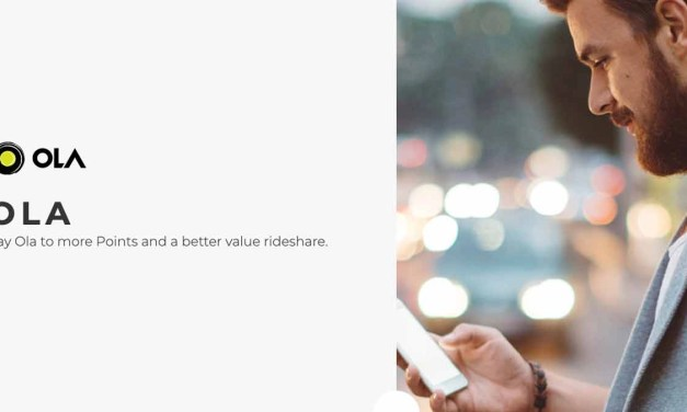 Velocity: Ola gets you more points for greater status