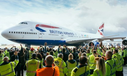 British Airways: farewell to 747 fleet