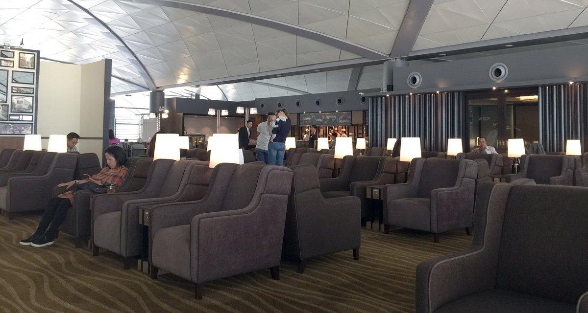 #TBT: Phnom Penh Airport Plaza Premium Lounge – Dragon Air to Hong Kong