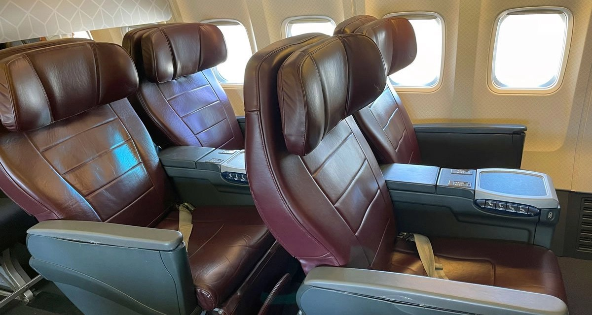 REVIEW: Qantas Domestic Business Class Adelaide to Sydney in 2021