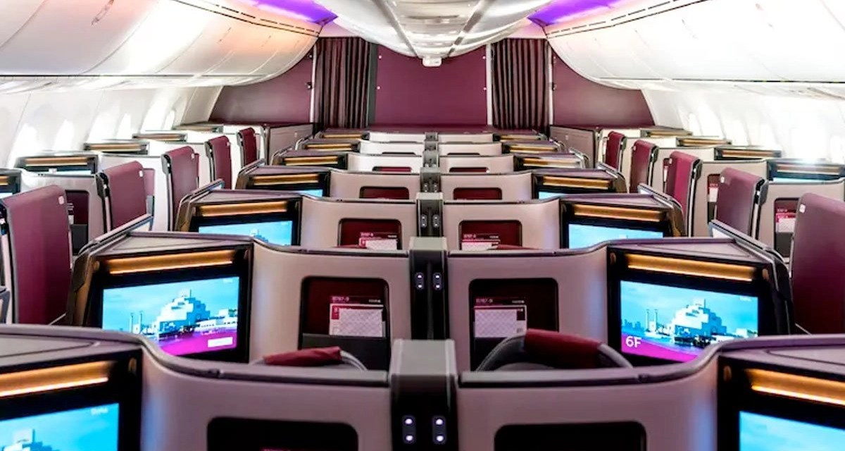 Qatar Airways: New Business Class seat for new 787-9s announced