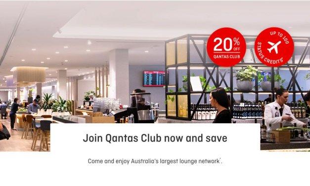 QANTAS: OFFER – Club fees reduced plus status points, ends 30 June 2021