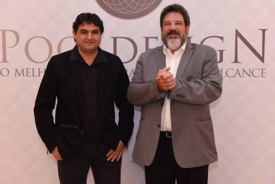 Mamede Chain (Presidente Pool Design) e o Professor Mario Sergio Cortella