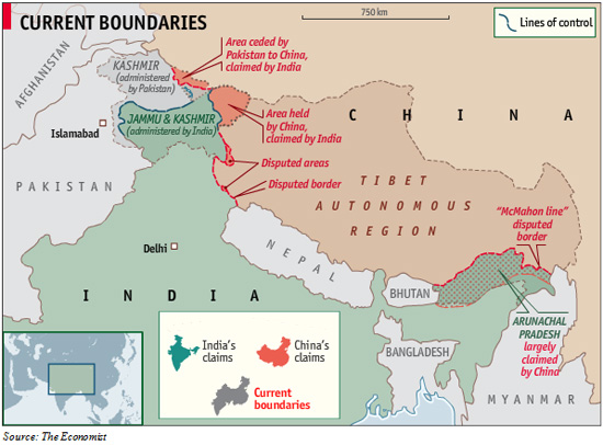 Indian Strategic Studies: China's Territorial Disputes with India