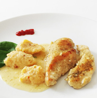 Chicken with Chili Dumplings
