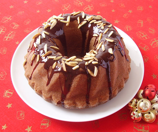 Red Wine Chocolate Bundt Cake - best ever dessert for festive days especially if you are chocolate and red wine admirer.