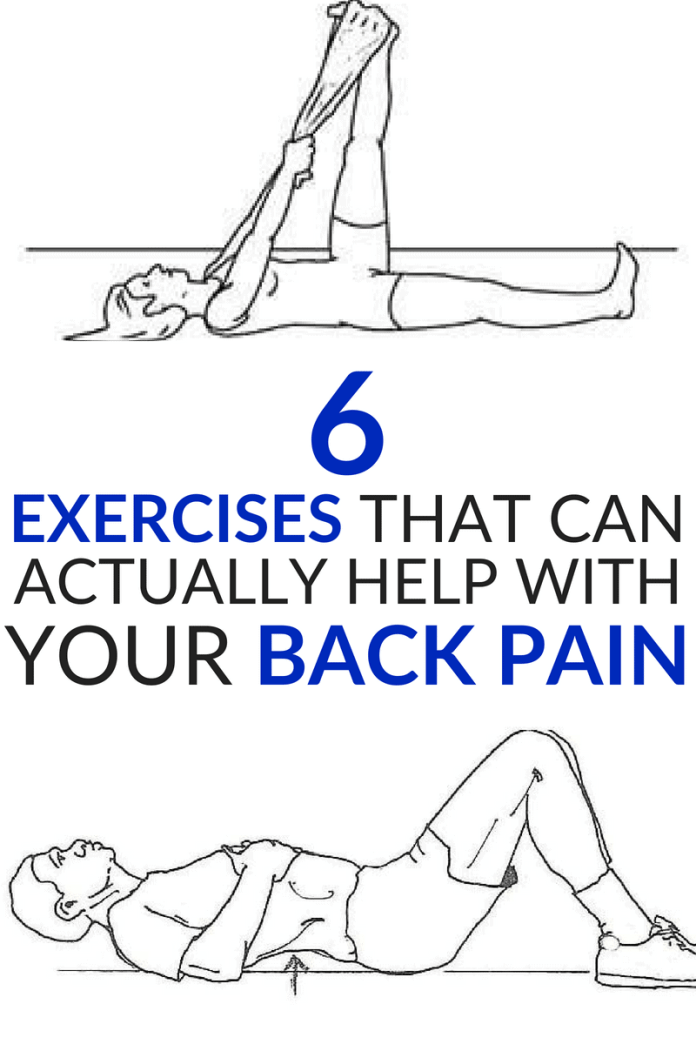 EXERCISES THAT WILL ACTUALLY HELP WITH YOUR BACK PAIN #BACKPAIN #EXERCISE