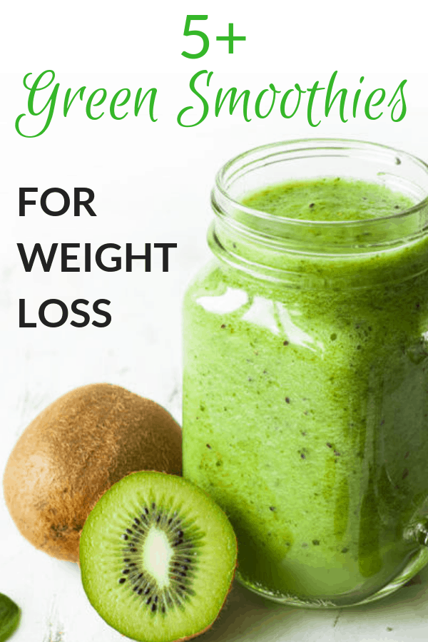 best and easiest green smoothie recipes for weight loss for beginners. To lose belly fat or to detox try these healthy smoothie recipes #detox #smoothie #recipes #weightloss