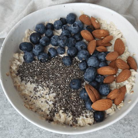 Easy Vegan High Protein Breakfast Bowl