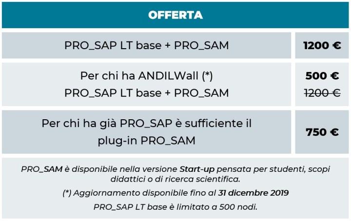 offerta PRO_SAM