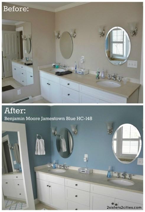 Blue paint colors for bathrooms