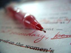 Red Pen Editing