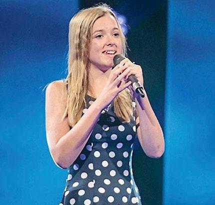 13-årige Laura fra Rødvig gik videre i Voice Junior