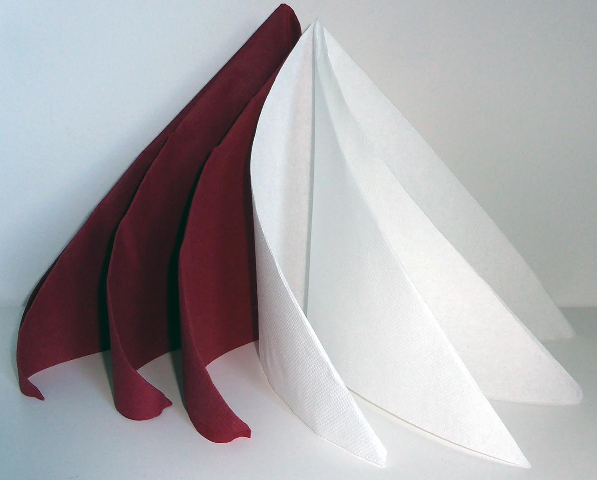 Pliage De Serviette De Table En Forme De Spirale Ou De
