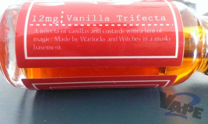 Etiket Vanilla Trifecta