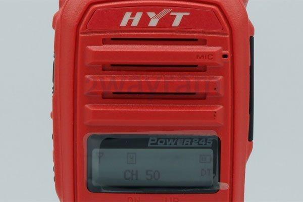 หน้าจอวิทยุสื่อสาร HYT Power-245
