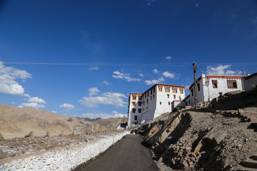 Riding up remote Buddhist monasteries is an adventure in itself