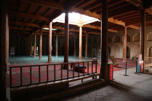 Emin Minaret interior