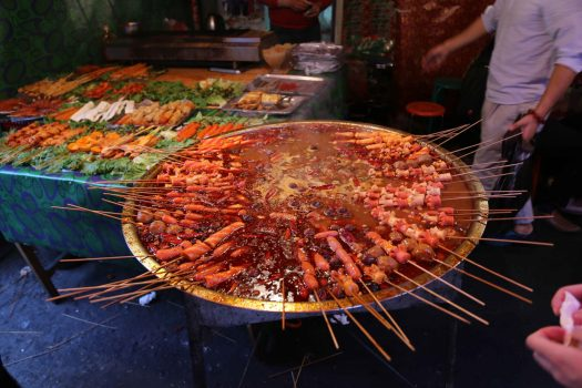 Xinjiang cuisine Uighur cuisine Mala skewer in soup
