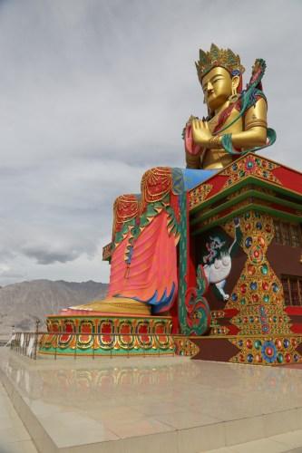 Maitreya statue in Diskit