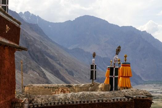 Diskit Monastery view