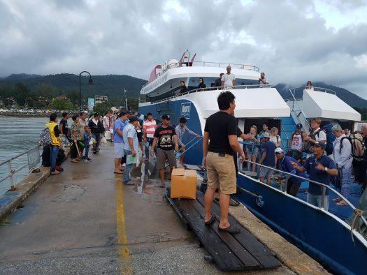 Ferry from Koh Samui to Koh Phangan