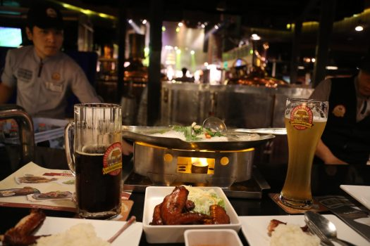 End the day with a craft beer at Tawandang