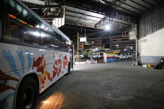 Get to the GL Trans Bus Terminal for the first ride out to Sagada