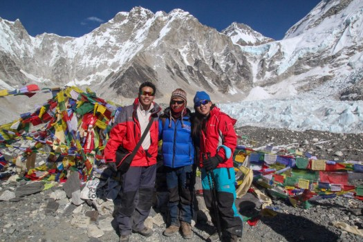 Reaching the Everest Base Camp