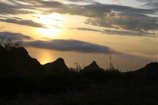 Sunset at Osmeña Peak