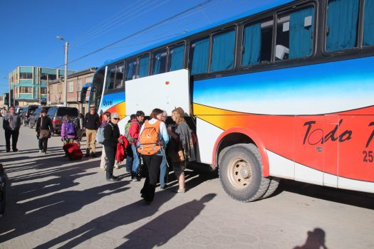 The Todo Turismo bus to Uyuni